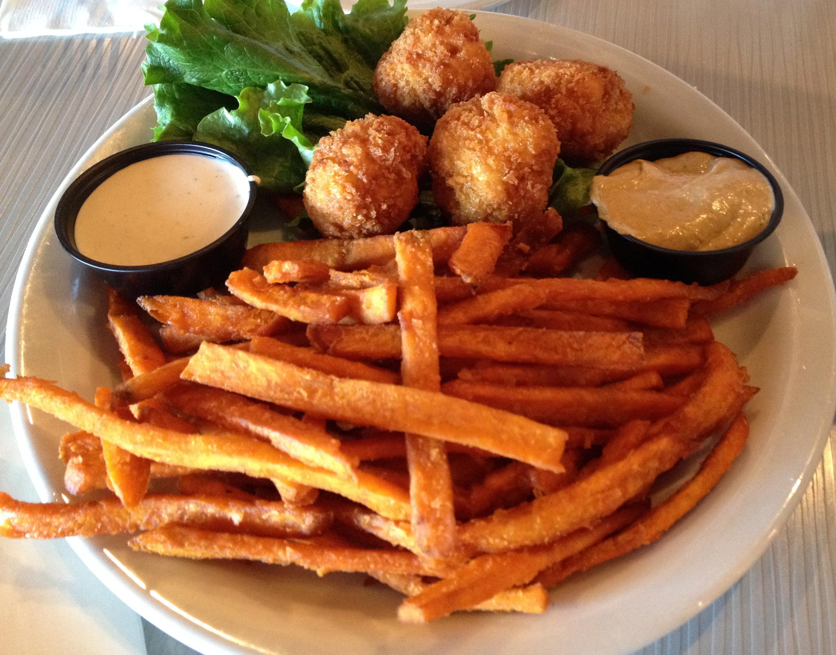 how to make sweet potato fries like restaurant