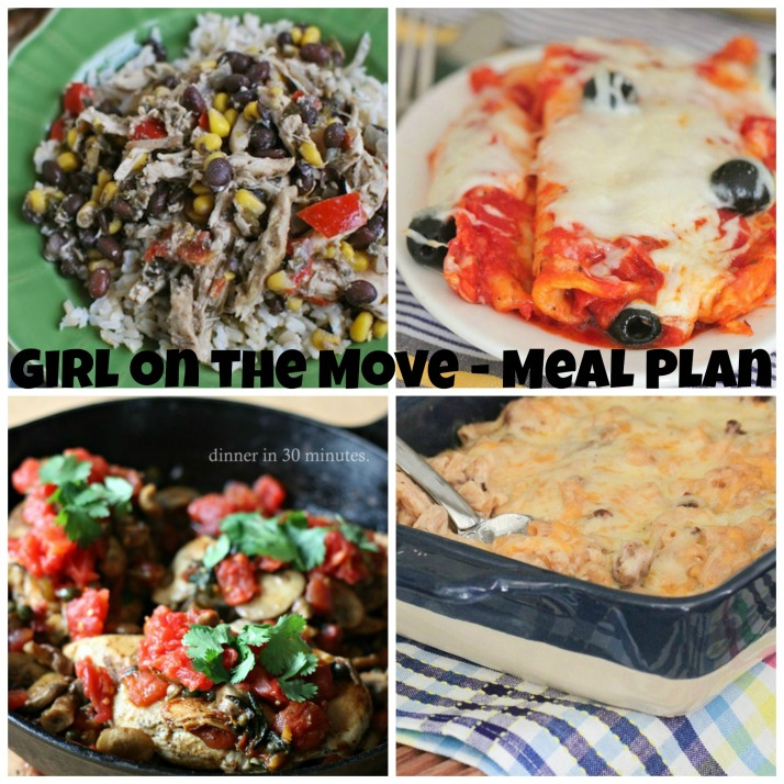 Week One Meal Plan   Girl on the Move Blog
